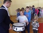 """Cykl spotkań dla uczniów szkół podstawowych z terenu Gminy Wiśniew """"Instrumenty dęte i klawiszowe"""""""